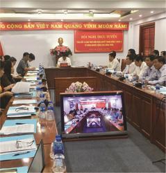 Triển khai phòng họp trực tuyến tại Trụ sở Tỉnh ủy Bắc Ninh năm 2015